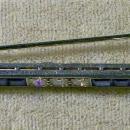 Vintage Platinum/Diamond/Sapphire Pin Art Deco Bar Ca. 1930 Signed J.E. Caldwell