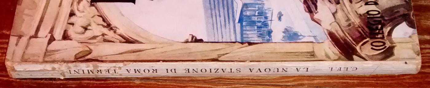 Roma Termini Railroad Station Promo Book 1951 PB 184 Pgs + Ads 4 Languages