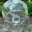 Fostoria Frosted Coin Clear Glass Compote/Open Jam/Jelly