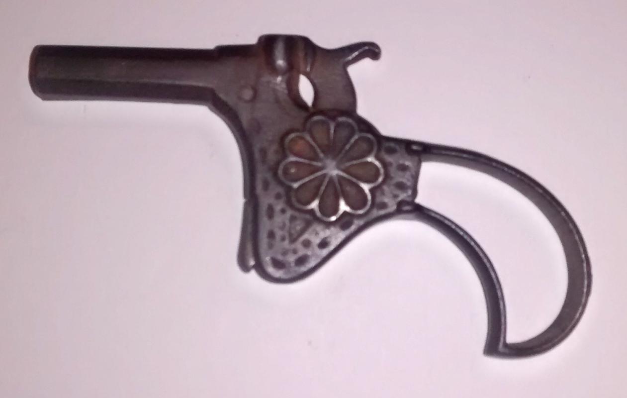 Antique Stevens Iron Cap Gun Single Shot Toy 1878