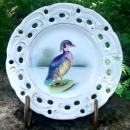 Wood Duck Hand-Painted Ceramic Plate Wales/Japan 8
