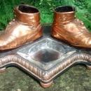Vintage Bron Shoe Co. Baby Shoe Ashtray Holder #86