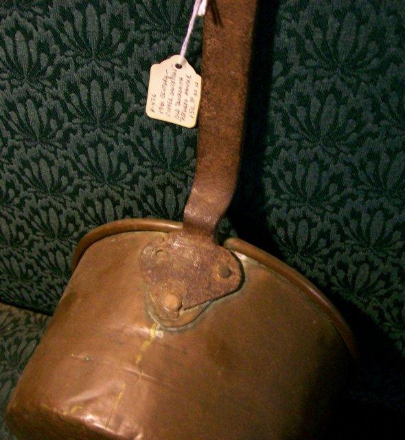 Antique Danielsberg Copper Saucepan Early 1800's