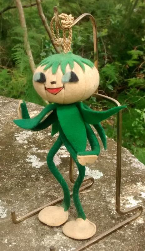 50s Italian Anthropomorphic Doll/Ornament Vegetable Person 6