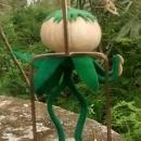 Vintage Italian Anthropomorphic Doll/Ornament Vegetable/Onion Person 6