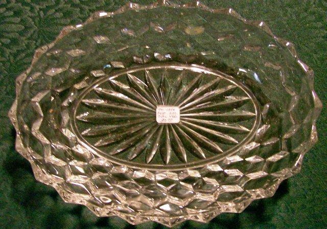 Vintage Fostoria American Bowl Oval Vegetable 9.25
