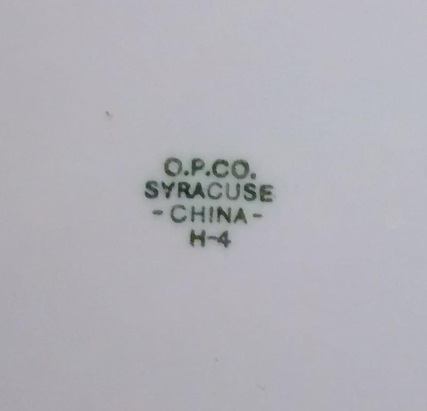 Vintage Gary Indiana Steel Mill Plate 1927 Syracuse 10.5