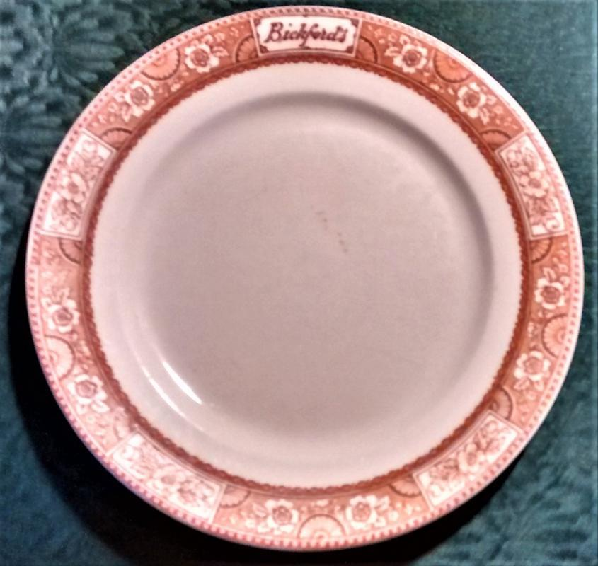 Bickford's Cafeteria / Lunch Room Advertising Plate 9