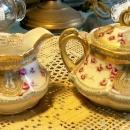 Noritake Nippon Gold Encrusted Cream & Sugar Set