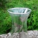 Vintage Silver City Flanders Vase Silver Overlay Poppies 6.75