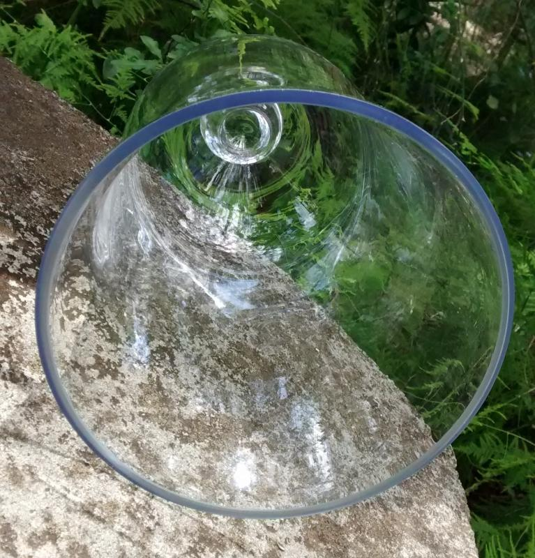 Antique Bell Jar Cloche Dome 11.25