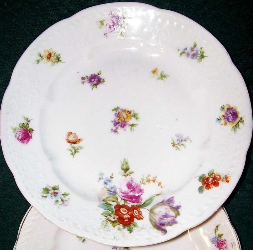 Merkelsgrun Dresden-Style Plate Austria/Bohemia 7