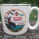 Vintage Boy Scout Mug 1969 National Jamboree Idaho McCoy