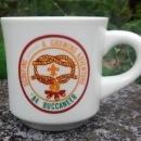 Vintage Boy Scout Mug 1984 Buccaneer