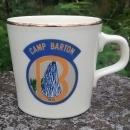 Vintage Girl Scout Mug 1974 Camp Barton