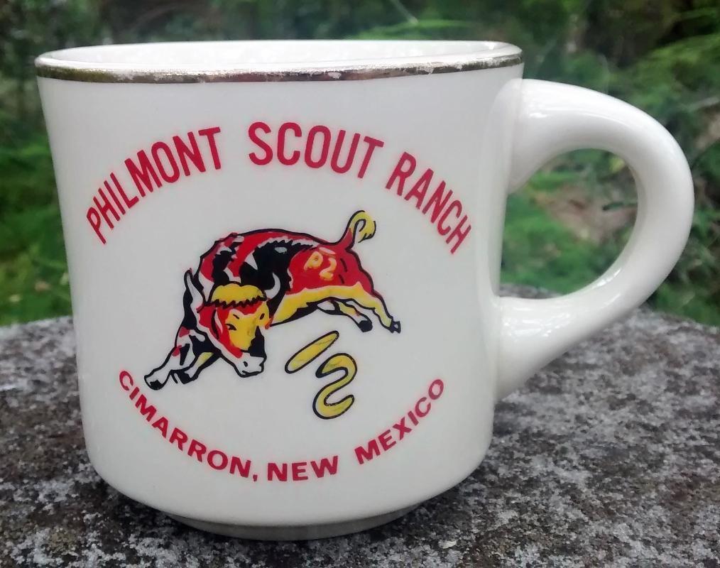 Vintage Boy Scout Mug Philmont Scout Ranch Cimarron NM 1970s