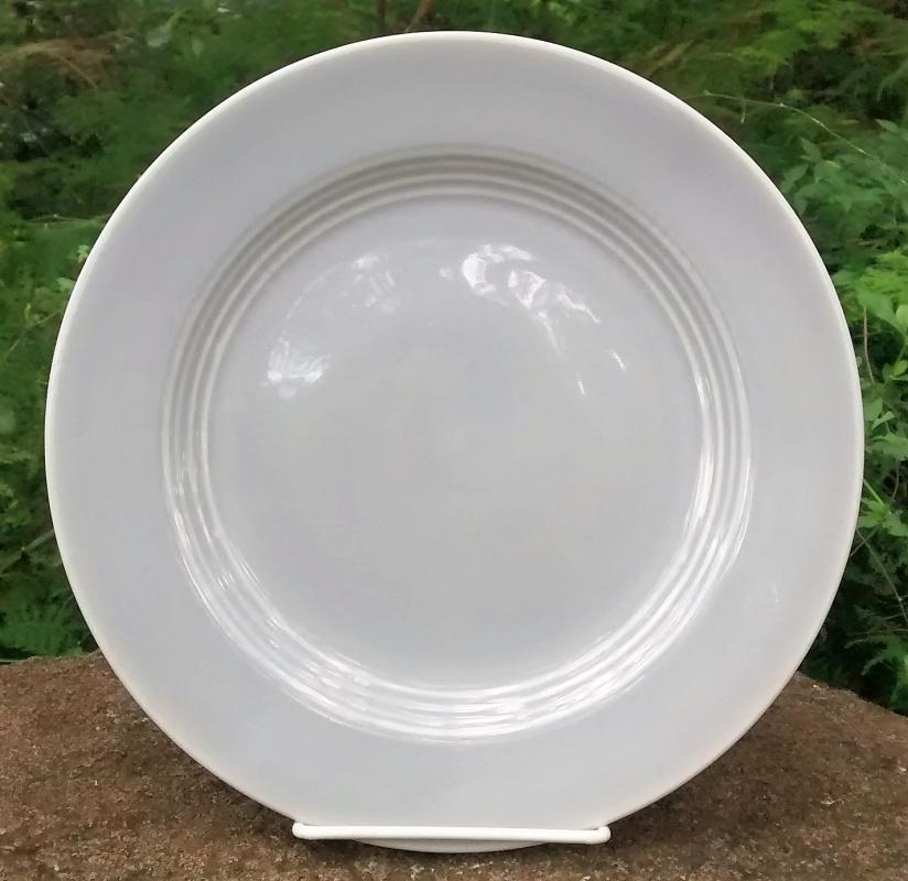 Vintage Laughlin Harlequin Gray Plate 9.25