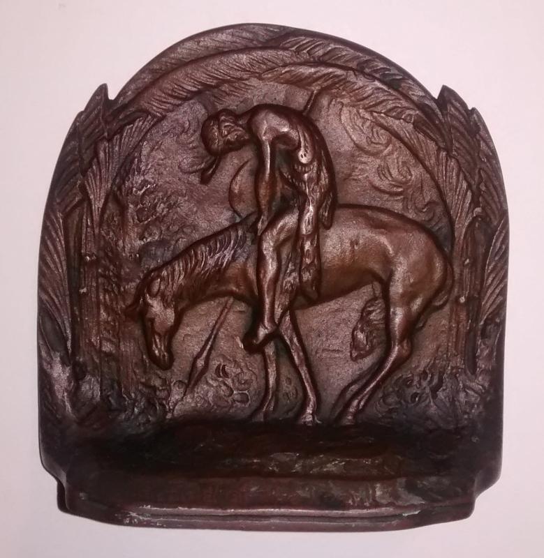 Bronze Bookend
