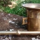 Brass Mortar & Pestle 1950s-60s Japan 4