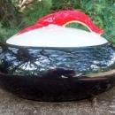 Shawnee Kenwood Lobster Ware Two-Handled Casserole w/Lid #992