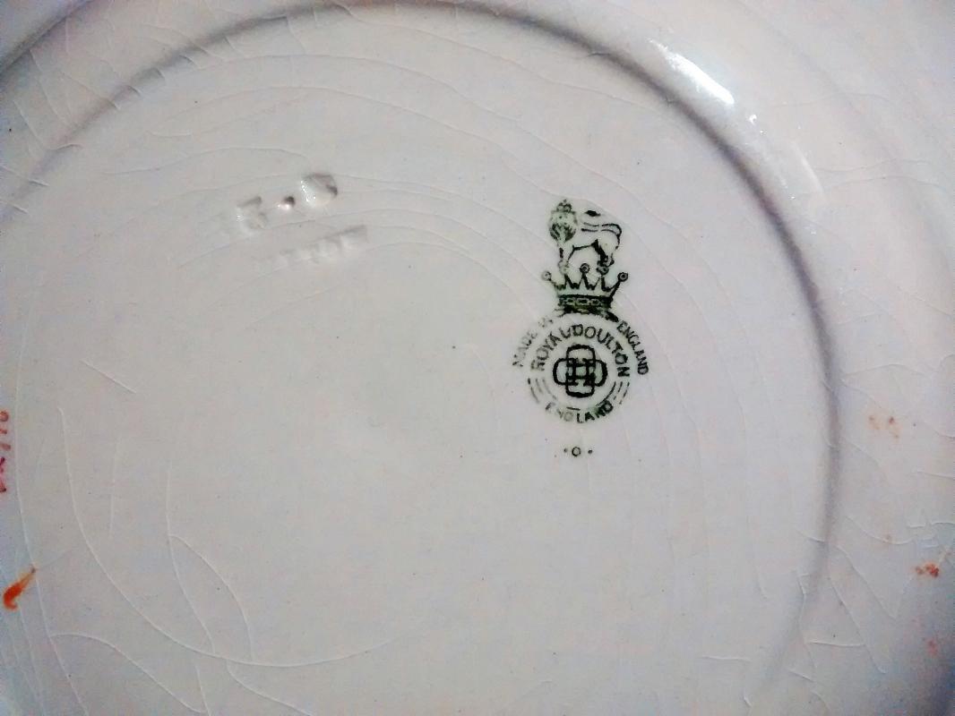Royal Doulton Coaching Days Plate D2716 7 5/8