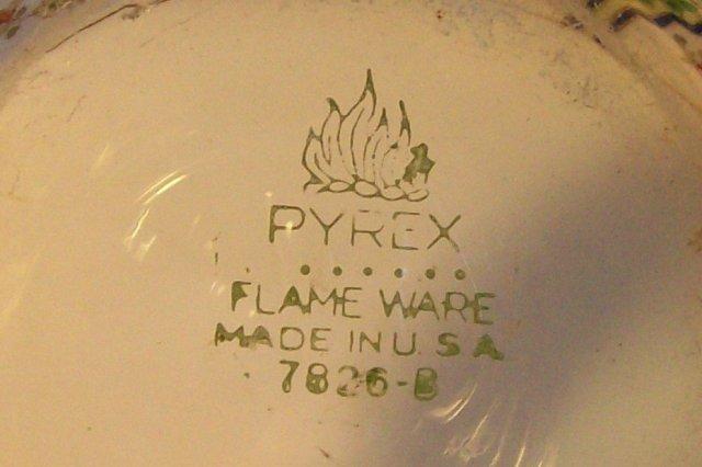 Pyrex Flameware Glass Percolator Ca. 1946-47 #7826B 8.5