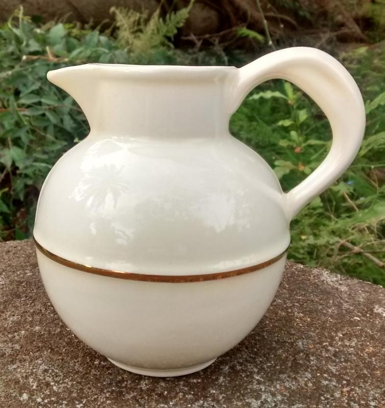 Vintage Stangl Replica Guernsey Milk Pitcher 1967-68 NO LID