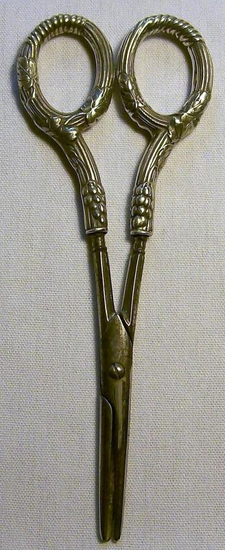 Antique Gorham Sterling Grape Shears Late 1800's