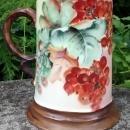 Antique Rosenthal Bavaria Stein Red Currant/Fruit Ca. 1900