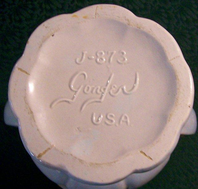 Gonder Ceramic Vase #J873 10.5