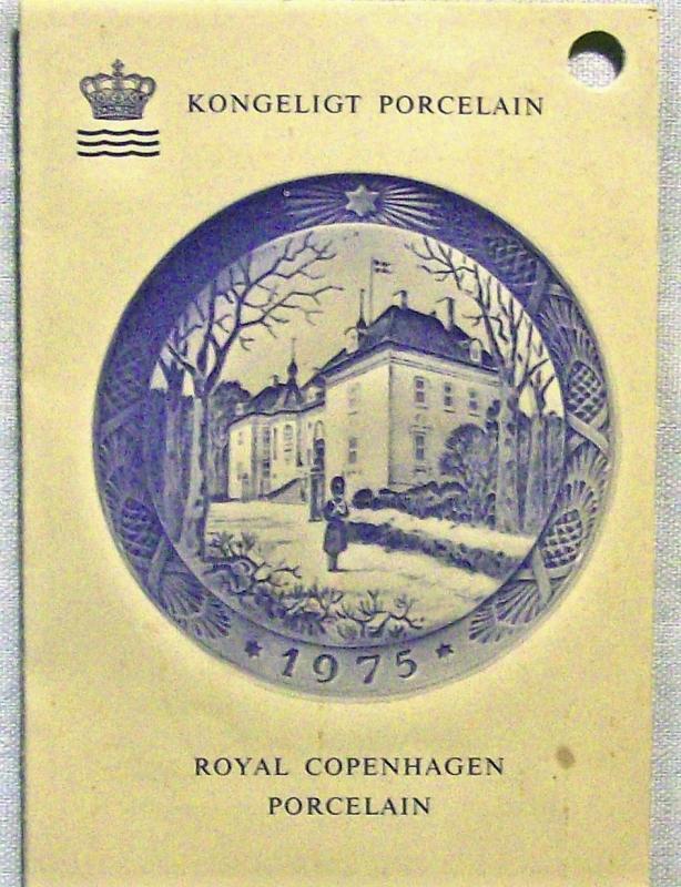 Vintage Royal Copenhagen Collector's Plate
