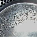 Antique Webster Silver-Plated Bowl #46 Pierced/Reticulated Pedestal Foot