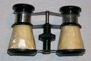 Vintage Occupied Japan Binoculars/ Opera Glasses Cracked Ice Celluloid