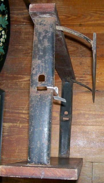 Antique Butcher's Paper Holder & Cutter Ca. 1900 Country Store