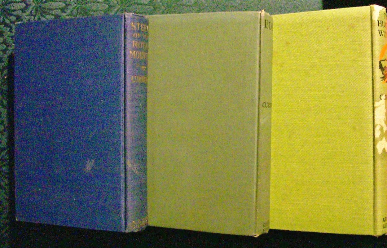 Antique Curwood Book Collection