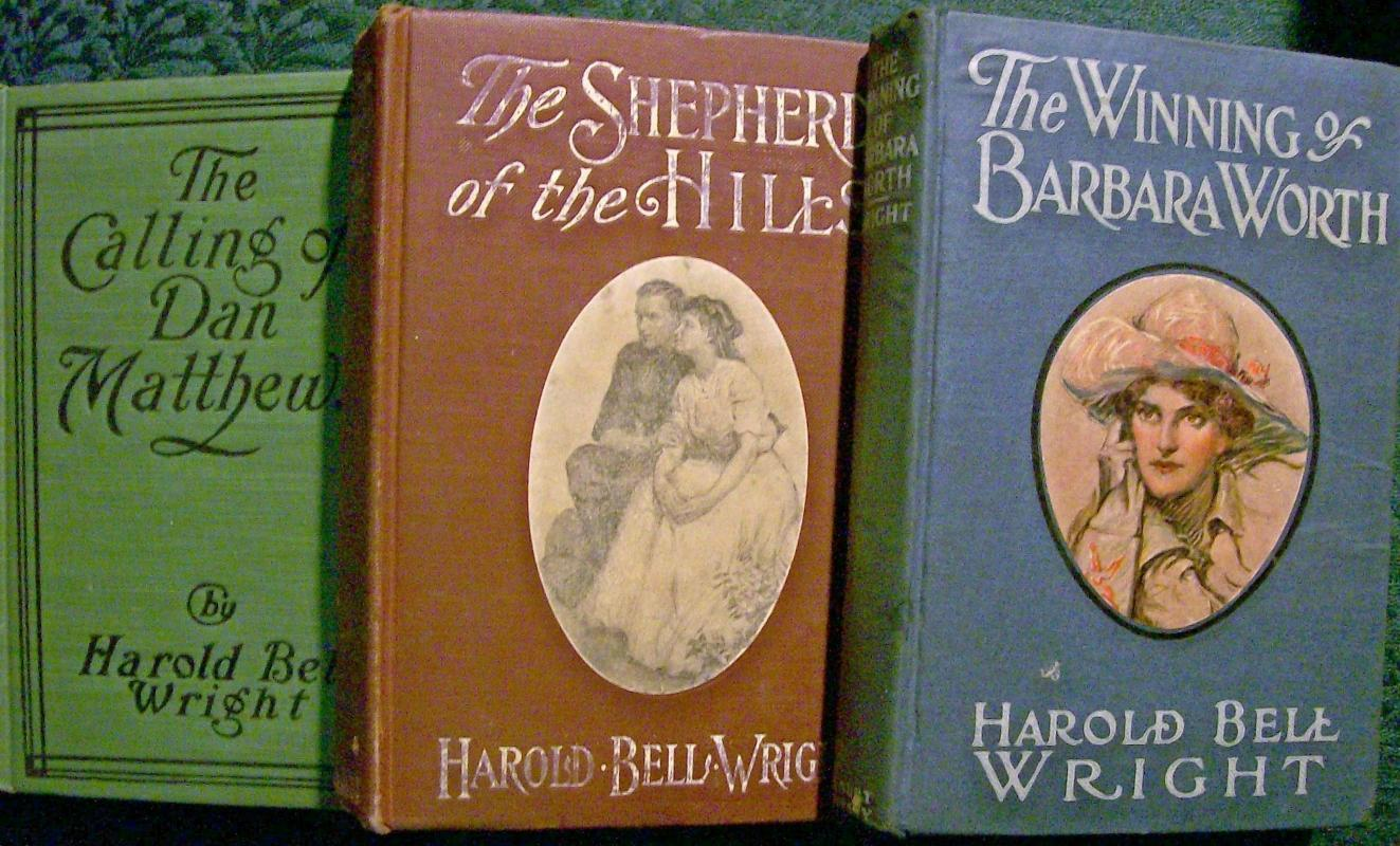 Antique Harold Bell Wright Book Set/3 Early 1900s
