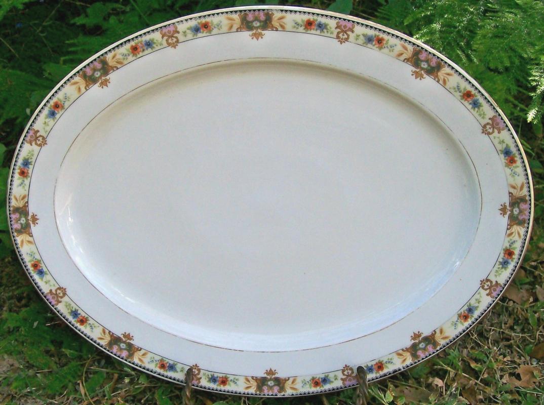 Vintage Tielsch Platter #2251 Altwasser Silesia/Germany Ceramic 15