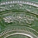 Antique Willow Oak Serving Plate EAPG 1880-1891 As Is
