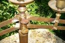 Brass Altar Candelabra/Candleholder Ca. 1880's