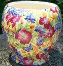 Vintage Royal Winton Royalty Chintz Jam Jar Only Multi-Color Floral Grimwades