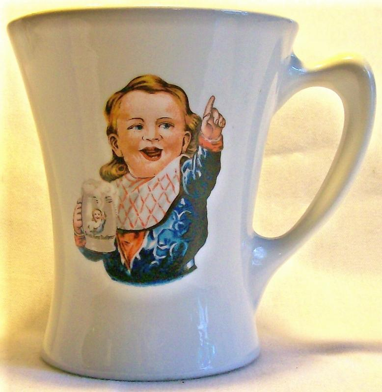 Vintage Hire's Root Beer Advertising Mug Crush 1960+ 4