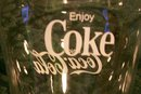 Vintage Coca-Cola Glass Tumbler Set/4 Soda Fountain 1950s-60s