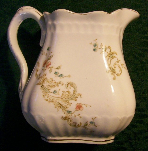 Royal Vitreous Ceramic Pitcher Maddock & Sons England 1880-96