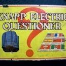 Vintage Knapp Electric Questioner Game #325 Battery Operated 1930s