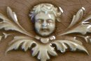 Antique Columbia Encaustic Tile Cherub Face 6