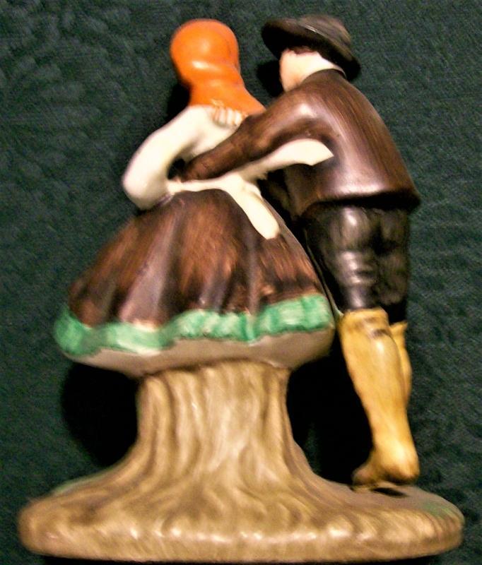 Vintage Hermonn/Napco Tyrolean Dancers Figurine #A5270A 1961