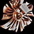 Vintage Trifari Bow Brooch/Pin Goldtone MCM 2