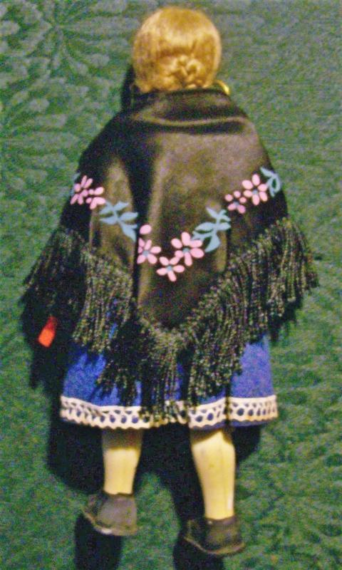 Vintage Ethnic Italian Souvenir Doll 1950's-60's 7