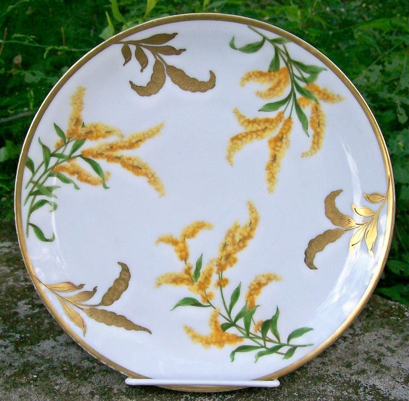 Antique Imperial Austria Goldenrod Plate #4479 PSL 1914-18