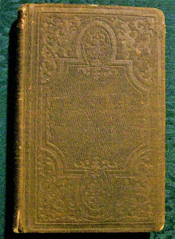 Antique Book A Chronological View of the World Haskel 1853